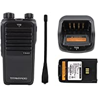 Titan Radio TR4X Digital DMR UHF 32 Ch 4W 400-470 Mhz Narrow Band Two Way Walkie Talkie Handheld Radio
