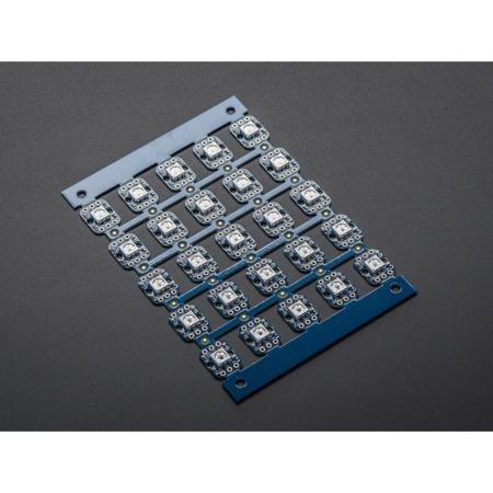 ADAFRUIT INDUSTRIES 1558 BREADBOARD RGB SMART LED SHEET OF 25