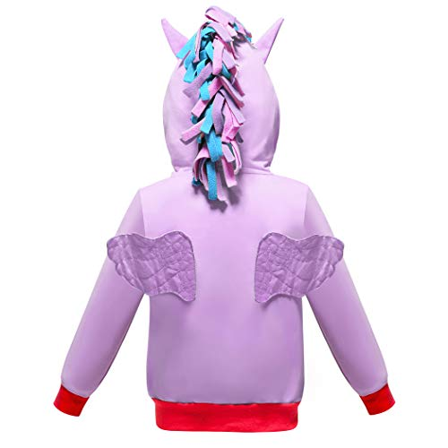 2-10 Years Girls Hoodies Coat Little Pony Rainbow Dash for sale  Delivered anywhere in USA