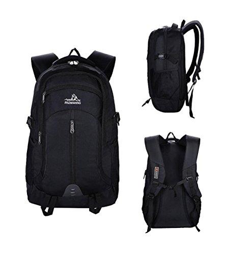 BUSL Los hombres y las mujeres viajan montañismo deportes al aire libre de senderismo hombro mochila y andar gran capacidad . a c