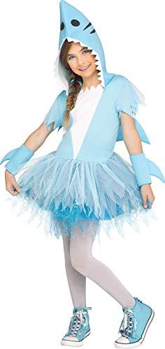 Fun World Shark Child Costume, Large, Multicolor ()