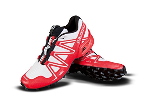 Salomon Speed Cross 3 Ltd Edition – White/Radiant Red