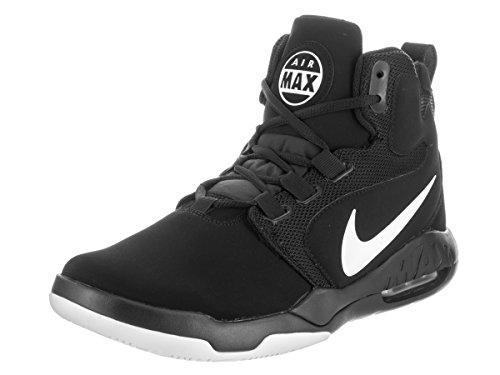 Nike Heren Air Conversie Zwart / Wit Basketbalschoen 8 Heren Ons