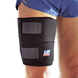 LP Hook & Loop Thigh Support (Black: One Size Fits Most)