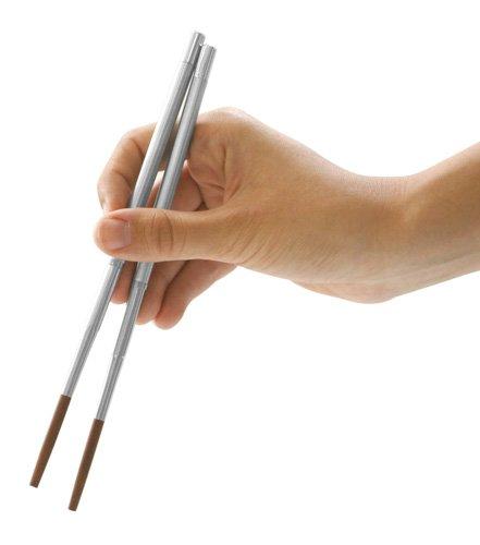 Kikkerland Collapsible Travel (Portable Chopsticks)