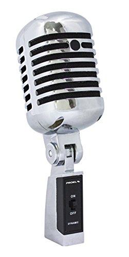 PROEL DM55 V2 Vintage 60s dynamic microphone]()