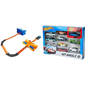 Mattel Hot Wheels Track Builder BausteinzubehörRennbahn Zubehör-Set ab 4 J. Sonstige