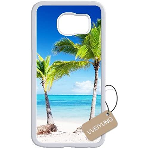 Diy Customized Cell Phone Case for Island Sunshine Beach White Samsung Galaxy s7 Edge Hard Back Cover Shell Phone Case (Fit: Samsung Galaxy s7 Edge) Sales