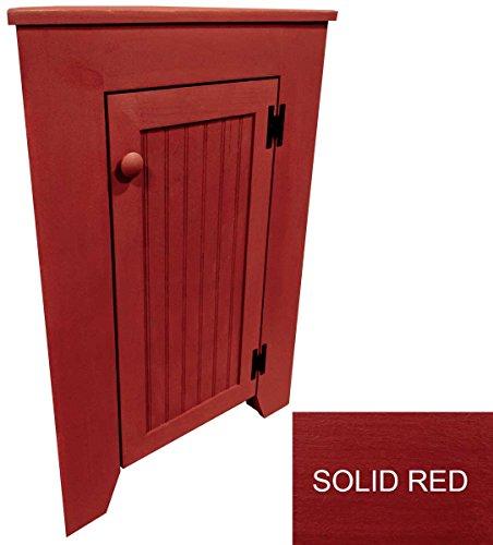 red corner cabinet - 4
