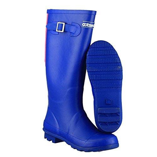 Cotswold Highgrove Damen Gummistiefel mit Schnalle - EU / UK Blau