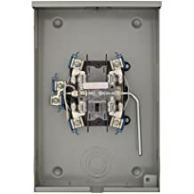 Murray RH173CRF Murray 200-Amp, 5 Jaw, Ringless Cover, Lever Bypass, Overhead And Underground Feed, Meter Socket