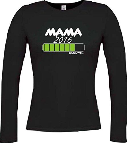 Cocodrilo Lady Manga Larga Mama 2016.... Loading, colores, tamaño XS–XXL negro