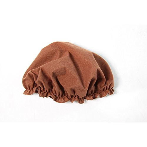 One Size Brown Peasant Mop Cap - Fits Child to Adult - Peasant Costumes Medieval Times