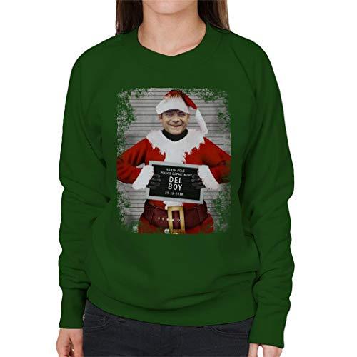 Sweatshirt Green Boy Women's Bottle Christmas Mugshot Coto7 Del AgqxfgXw