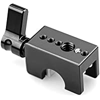SmallRig Quick Release 12mm Rod Clamp Railblock for 12mm Rod System, Wingnut - 1403