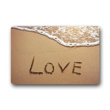 love beach design doormat indoor floor mats door rubber mat for entrance way decor welcome rug