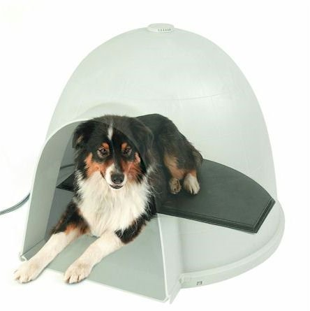 K&H Pet Products K&H Manufacturing Lectro-Kennel Igloo Style Outdoor Heated Pad - Medium
