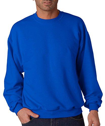 (Jerzees 8 oz., 50/50 NuBlend Fleece Crew (562)- ROYAL,L)