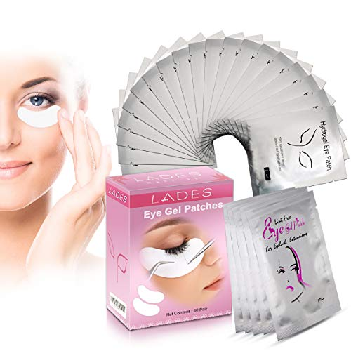 irs of Eyelash Lash Extension Under Eye Gel Pads Lint Eye Patches ()
