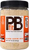 PBfit All-Natural Peanut Butter Powder 15 Ounce, Peanut Butter Powder from Real Roasted Pressed Peanuts, Low in Fat High in Protein, Natural Ingredients