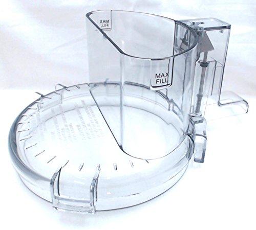 Tritan Cuisinart Food Processor Work Bowl Cover W/ Lrg Feed Tube DLC-2007WBCNT-1 by Cuisinart