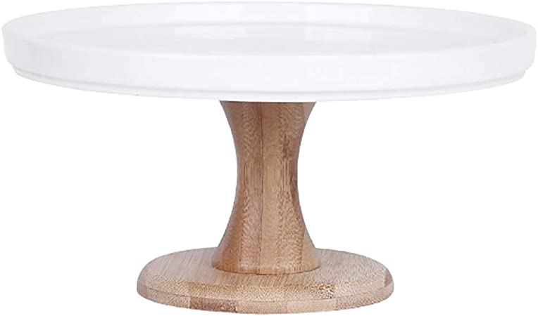 Bandejas para tartas Tabla de pastel de cerámica de patas altas Juego de mesa Decoración de