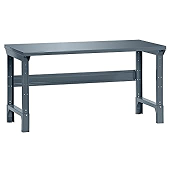 Terrific Edsal 1001S Steel Basic Adjustable Leg Work Bench 72 Width X 34 Height X 30 Depth Industrial Gray Evergreenethics Interior Chair Design Evergreenethicsorg