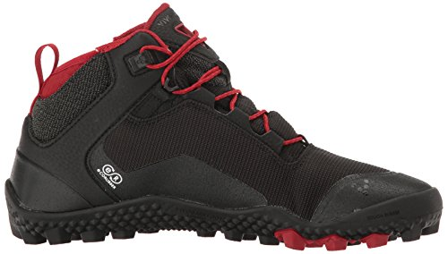 Walking Hiker Ground Vivobarefoot Men's Black Boot Hiking Soft Shoes Lightweight In0Aw0x