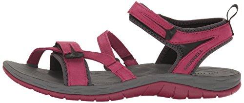 Merrell Women's Siren Strap Q2 Athletic Sandal, Beet Red, 8 M US by Merrell (Image #5)
