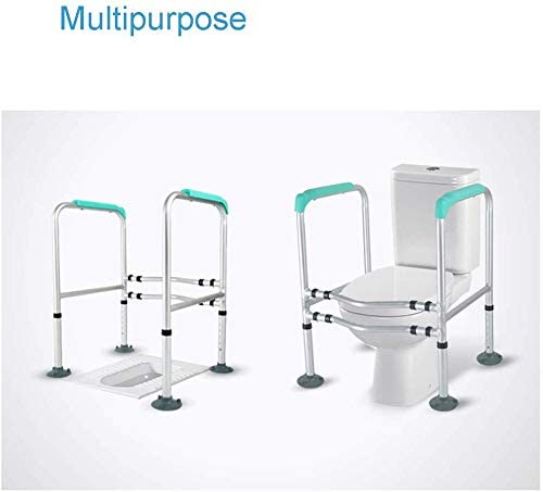 GBX Beweglich Faltbare Durablefolding Potty Wc Stuhl, Kopfendecommode Sitz | Old Man Wc-Stuhl | Medizinische Hilfe | Hospital Medical Slip-Resistant Stuhl