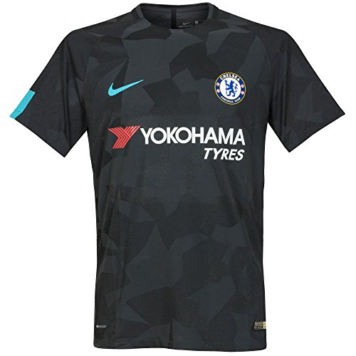 Nike Youth Chelsea FC Stadium Jersey [ANTHRACITE] (L) (Oscar Youth Soccer Jersey)
