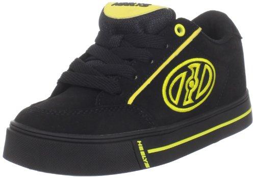 Heelys Wave Skate Shoe (Little Kid/Big Kid),Black/Yellow,4 M US Big Kid