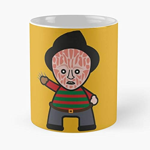 Freddy Krueger Nightmare On Elm Street - Funny Gifts For Men And Women Gift Coffee Mug Tea Cup White 11 Oz The Best Gift Holidays.