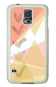Samsung Galaxy S5 case Best Abstract Cute PC White Custom Samsung Galaxy S5 Case Cover