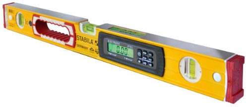 Stabila 36524 24-Inch Electronic Dust and Waterproof IP65 TECH Level with - Torpedo Level Case