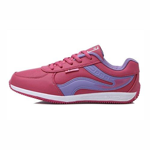 B Athletische Leichte Herbst YaXuan zufällige Schuhe gehende Klassische Frauen beiläufige Schuhe Größe Ein Laufschuhe Turnschuhe 40 Rutschfeste Farbe Mode Bequeme Sport 8qxqFRI6