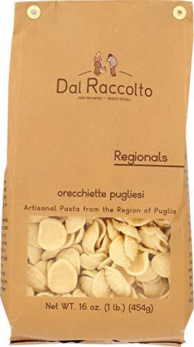Dal Raccolto Orecchiette Pasta, 1.0 lb (Pasta Dried)
