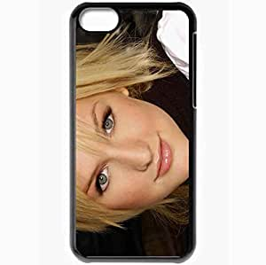 Personalized iPhone 5C Cell phone Case/Cover Skin Ashlee Simpsom Black