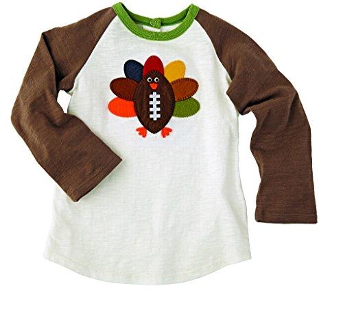 Mud Pie Little Football T Shirt