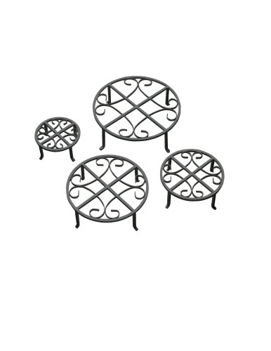 red-carpet-studios-set-of-four-round-black-iron-plant-stands-scroll-pattern
