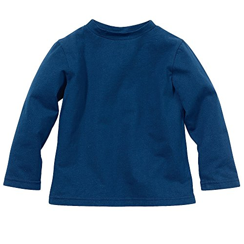 Baby Boy Insect Repellent Long Sleeve Tshirt by Bug Smarties, Navy Blue, Size 2T