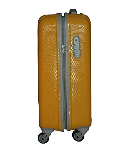 VIP Tube Strolly Bag 65cm Golden Yellow luggage Suitcase  Amazon.in  Bags 217a41208d8d4