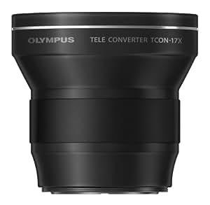 Olympus TCON - 17x - Teleconvertidor 1.7x para Olympus XZ-1, color negro