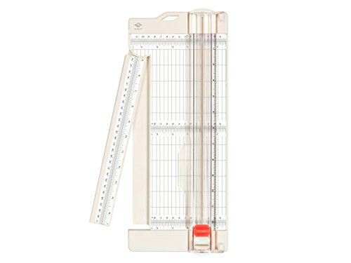 Display Trim Ruler - Bira Craft paper trimmer and scorer with swing-out arm, 4.5