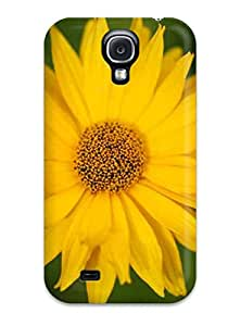 Case Cover Yellow Flowers / Fashionable Case For Galaxy S4 9389328K12076713