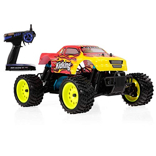 HSP No.94186 RC Car Kidking 1/16 4WD High Speed Off-road Monster Truck RTR Electric Racing Car RC Toy for Kids