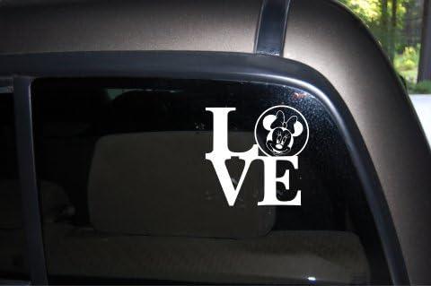 Minnie Mouse Car Sticker Window Bumper Sticker Decal