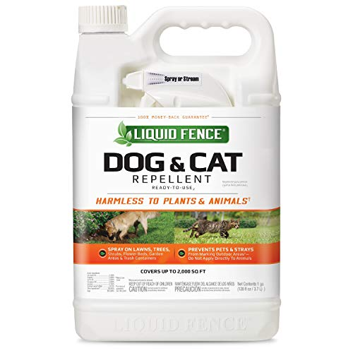 Liquid Fence Dog & Cat Repellent Ready-to-Use, 1-Gallon