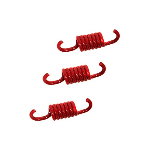 MMG Powersports Clutch Shoe Springs Set GY6 50cc Racing 2000N, Red (Clutch Racing Spring)