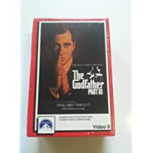 VIDEO 8 (NOT VHS) The Godfather Part III 1991 Paramount Pictures - Al Pacino